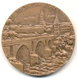 Médaille de Montauban. Source : http://data.abuledu.org/URI/51bad152-medaille-de-montauban