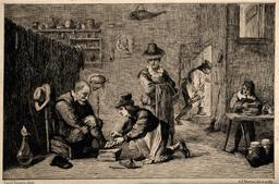 Médecin de campagne au dix-septième siècle. Source : http://data.abuledu.org/URI/56c8ed1a-medecin-de-campagne-au-dix-septieme-siecle