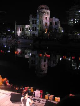 Mémorial d'Hiroshima. Source : http://data.abuledu.org/URI/5438d109-memorial-d-hiroshima