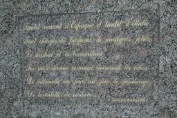 Mémorial de Brassens à Sète. Source : http://data.abuledu.org/URI/53b5b5e9-memorial-de-brassens-a-sete