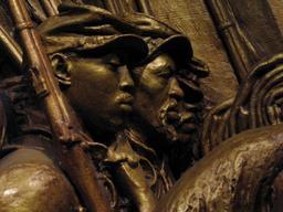 Mémorial de l'armée afro-américaine en 1897. Source : http://data.abuledu.org/URI/5438ca75-memorial-de-l-armee-afro-americaine-en-1897