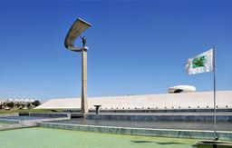 Mémorial J. Kubitschek à Brasilia. Source : http://data.abuledu.org/URI/553644e1-memorial-j-kubitschek-a-brasilia-2009