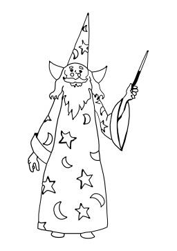 Merlin l'enchanteur. Source : http://data.abuledu.org/URI/5026ceb3-merlin-l-enchanteur