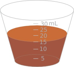 Mesure d'un volume de 15ml. Source : http://data.abuledu.org/URI/530cd571-mesure-d-un-volume-de-15ml