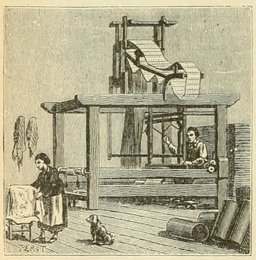 Métier à tisser la soie. Source : http://data.abuledu.org/URI/524db416-metier-a-tisser-la-soie