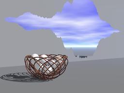Mettre tous ses oeufs dans le même panier. Source : http://data.abuledu.org/URI/54ee5234-mettre-tous-ses-oeufs-dans-le-meme-panier