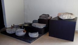 Meules gallo-romaines à Lattes. Source : http://data.abuledu.org/URI/58d4bb16-meules-gallo-romaines-a-lattes