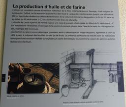 Meules gallo-romaines à Lattes. Source : http://data.abuledu.org/URI/58d4bb2c-meules-gallo-romaines-a-lattes