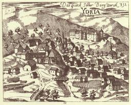 Mine de mercure en Slovénie. Source : http://data.abuledu.org/URI/5156f66d-mine-de-mercure-en-slovenie