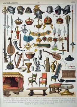Mobilier du seizième siècle. Source : http://data.abuledu.org/URI/5308688b-mobilier-du-seizieme-siecle