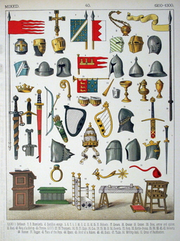 Mobilier médiéval. Source : http://data.abuledu.org/URI/530759ab-mobilier-medieval