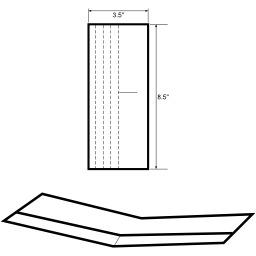 Modèle de planeur en papier. Source : http://data.abuledu.org/URI/52ae05b2-modele-de-planeur-en-papier