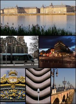 Montage de vues bordelaises. Source : http://data.abuledu.org/URI/5547da78-montage-de-vues-bordelaises