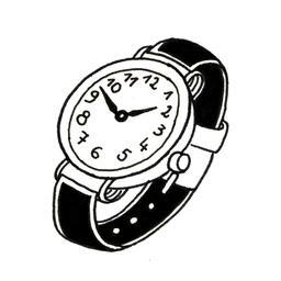 Montre de poignet. Source : http://data.abuledu.org/URI/52d7c42b-montre-de-poignet