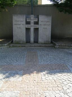 Monument aux morts de Villemomble. Source : http://data.abuledu.org/URI/543ed598-monument-aux-morts-de-villemomble