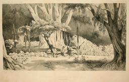 Monument funéraire de l'île Tound. Source : http://data.abuledu.org/URI/5981b644-monument-funeraire-de-l-ile-tound
