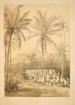 Moraï à Nouka-Hiva en 1838. Source : http://data.abuledu.org/URI/598080cf-morai-a-nouka-hiva-en-1838
