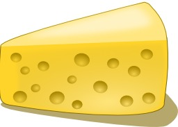 Morceau de fromage. Source : http://data.abuledu.org/URI/501cfac4-morceau-de-fromage