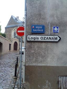 Mosaïque de Space invader à Angers. Source : http://data.abuledu.org/URI/52c1f546-mosaique-de-space-invader-a-angers
