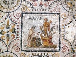 Mosaïque des mois. Source : http://data.abuledu.org/URI/51812deb-mosaique-des-mois-