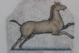 Mosaïque du cheval. Source : http://data.abuledu.org/URI/590794d0-mosaique-du-cheval