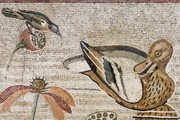 Mosaïque du Nil à Pompéi. Source : http://data.abuledu.org/URI/526bda78-mosaique-du-nil-a-pompei