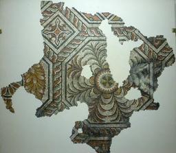 Mosaïque gallo-romaine à Bordeaux. Source : http://data.abuledu.org/URI/5587b503-mosaique-gallo-romaine-a-bordeaux