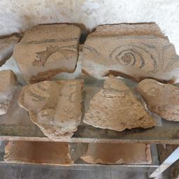 Mosaïques de la villa gallo-romaine de Loupiac-33. Source : http://data.abuledu.org/URI/599ab3b3-mosaiques-de-la-villa-gallo-romaine-de-loupiac-33