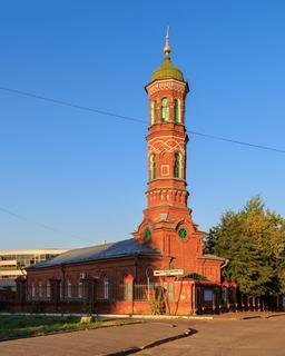 Mosquée Burnay à Kazan en Russie. Source : http://data.abuledu.org/URI/58ceecaf-mosquee-burnay-a-kazan-en-russie