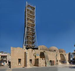 Mosquée de Neratzes à Réthymnon. Source : http://data.abuledu.org/URI/58dd7aed-mosquee-de-neratzes-a-rethymnon
