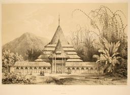 Mosquée de Ternate en 1838. Source : http://data.abuledu.org/URI/59815762-mosquee-de-ternate-en-1838