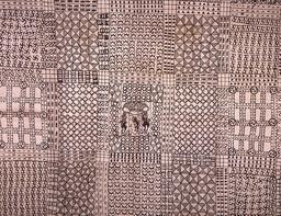 Motifs de l'art Adinkra en 1825. Source : http://data.abuledu.org/URI/530cb6f5-motifs-de-l-art-adinkra-en-1825