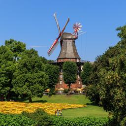 Moulin à vent de Brême. Source : http://data.abuledu.org/URI/58cecc55-moulin-a-vent-de-breme