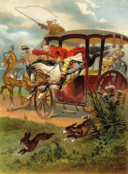 Munchhausen sautant dans le carrosse. Source : http://data.abuledu.org/URI/567ecd8a-munchhausen-sautant-dans-le-carrosse