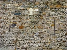 Mur de pierres et de galets. Source : http://data.abuledu.org/URI/58675ee2-mur-de-pierres-et-de-galets
