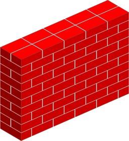 Mur en briques. Source : http://data.abuledu.org/URI/53ccfddf-mur-en-briques