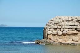 Mur grec à Sant Marti d'Empuries. Source : http://data.abuledu.org/URI/590a4553-mur-grec-a-sant-marti-d-empuries