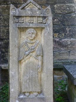 Parc du musée archéologique de Dijon. Source : http://data.abuledu.org/URI/5820ab53-musee-archeologique-de-dijon