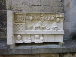 Parc du musée archéologique de Dijon. Source : http://data.abuledu.org/URI/5820ab9e-musee-archeologique-de-dijon