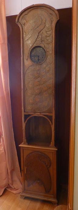 Pendule au musée de l'école de Nancy. Source : http://data.abuledu.org/URI/5818d8a1-musee-de-l-ecole-de-nancy