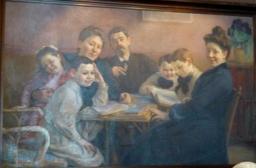 Taableau au musée de l'école de Nancy. Source : http://data.abuledu.org/URI/5818eab2-musee-de-l-ecole-de-nancy