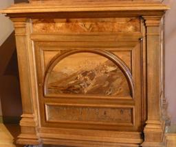 Meuble au musée de l'école de Nancy. Source : http://data.abuledu.org/URI/5818eb47-musee-de-l-ecole-de-nancy