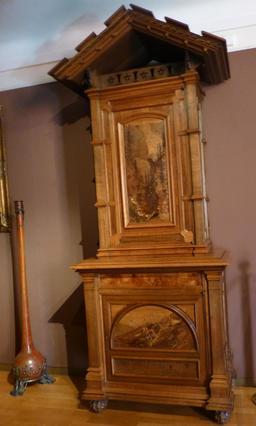 Meuble au musée de l'école de Nancy. Source : http://data.abuledu.org/URI/5818eb6b-musee-de-l-ecole-de-nancy