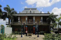 Musée postal historique de Port Louis. Source : http://data.abuledu.org/URI/59da7ba5-musee-postal-historique-de-port-louis