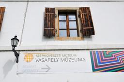 Musée Vasarely à Budapest. Source : http://data.abuledu.org/URI/5386136b-musee-vasarely-a-budapest