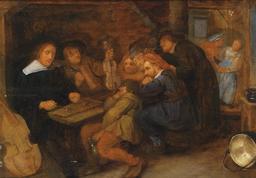 Musiciens dans une taverne au 17ème siècle. Source : http://data.abuledu.org/URI/54bbeb23-musiciens-dans-une-taverne-au-17eme-siecle