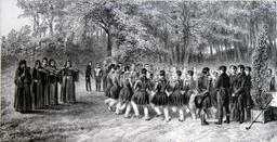 Musiciens du 2ème régiment, 1837. Source : http://data.abuledu.org/URI/50f1eb0d-musiciens-du-2eme-regiment-1837