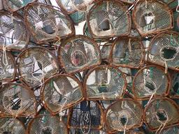 Nasses de pêcheurs en Espagne. Source : http://data.abuledu.org/URI/55de3447-nasses-de-pecheurs-en-espagne