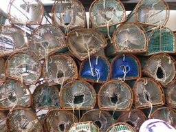 Nasses de pêcheurs en Espagne. Source : http://data.abuledu.org/URI/55de34aa-nasses-de-pecheurs-en-espagne
