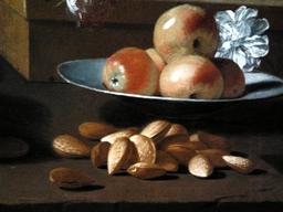 Nature morte aux pommes et amandes. Source : http://data.abuledu.org/URI/52b73880-nature-morte-aux-pommes-et-amandes